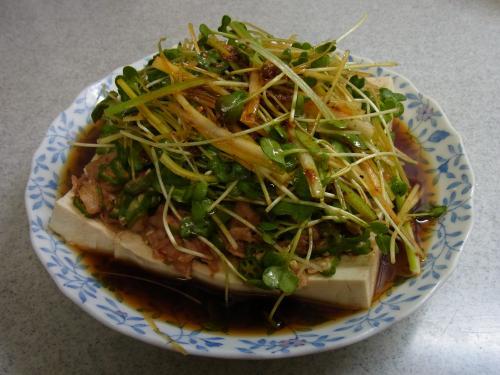 110320-030おくらキムチ豆腐(縮小)