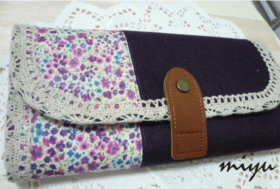 長財布(フィービーパープル)1