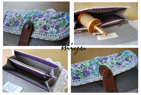 長財布(エミリー紫)3