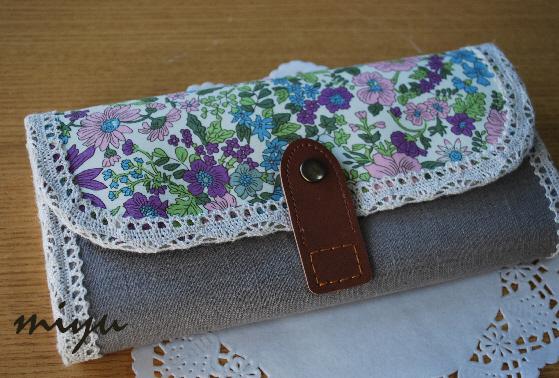 長財布(エミリー紫)1
