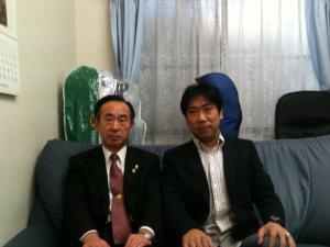 多田市長と1