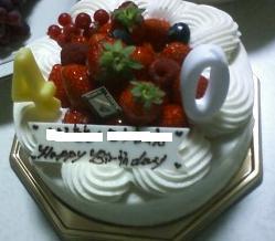 10.6ケーキ