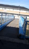 真間川青い橋