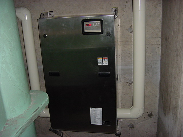増圧ポンプ配管