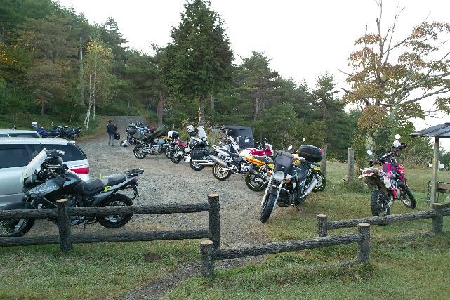集結バイク