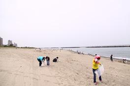 瀬波海岸をキレイにSea隊