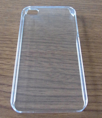 透明iPhoneケース