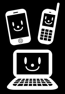 iPhoneガラケーPCアイコン