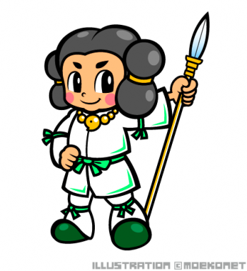 いざなぎのみことキャラクターイラスト