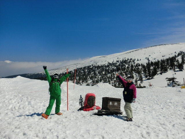 春スキー蔵王