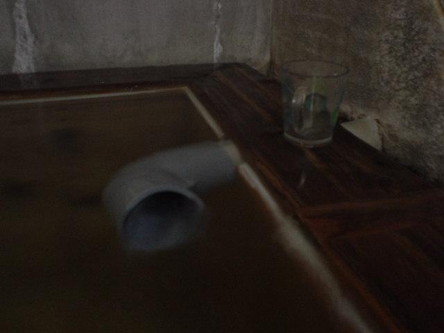 パイプ湯口