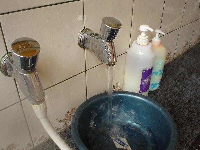 カラン&シャワーはハッキリタマゴ臭とタマゴ味