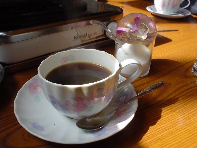 ランチはコーヒーが付きます!