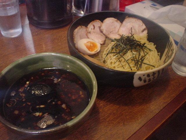 やだら黒ちゅけ麺チャーシューリキトッピング!