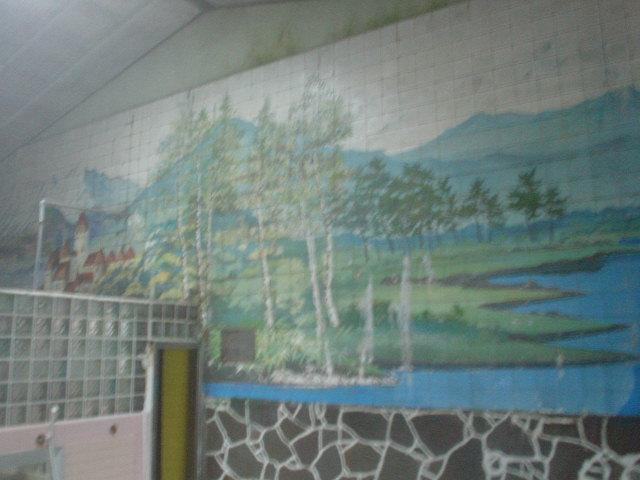 壁画も美しいよん