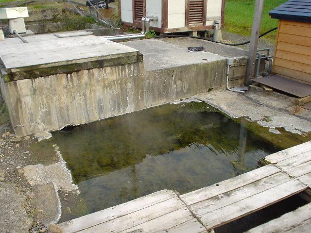 湯野川旧共同浴場跡