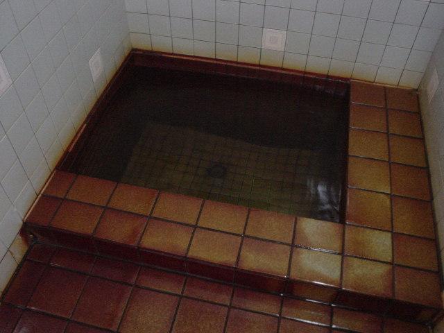 金気臭がする水風呂
