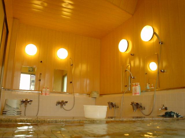小ぶりでキレイな浴室