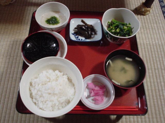 亀屋さんの朝食