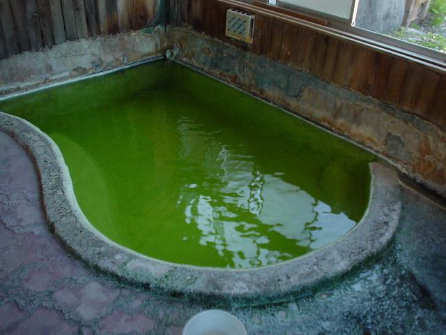 なぜかこっちは人気がないけれど鮮度抜群の小浴場