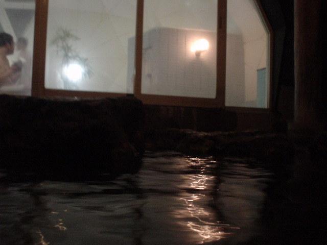 露天源泉浴槽