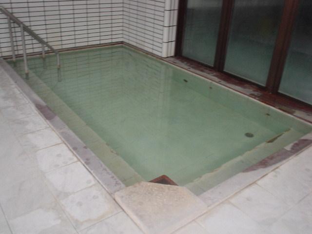 露天へ繋がる内湯浴槽