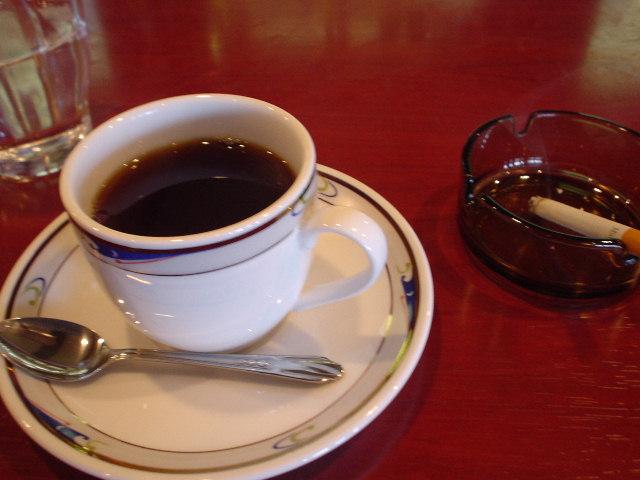 食後はコーヒで♪