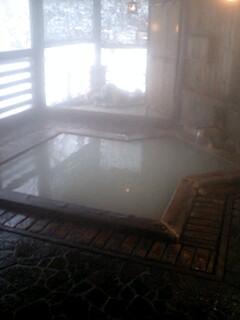 山のホテル宿泊者専用浴槽