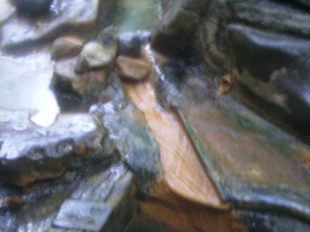 湯溜からの投入口
