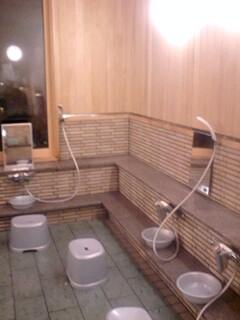 新しい洗い場