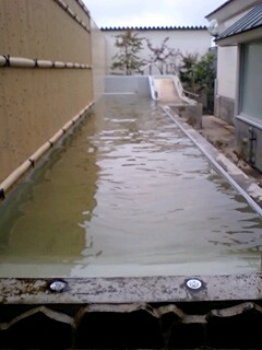 長~い歩行浴