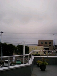 天気が好いと太平洋が見えるんです