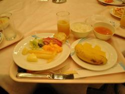 OSR  4日目朝食