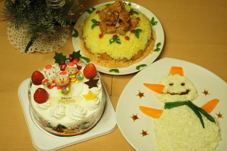 クリスマスディナー2011