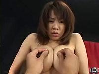 【無修正】松島ややちゃんの爆乳とマ○コで遊んでみよう!!