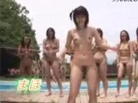 無修正がみたい ~無修正直リンク:『 無修正動画 』 メガネっ娘22人が全裸リンボー大会!おまけで公開3P!