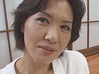 【無修正】夜の蝶と真紫の風  渡辺優子 五十路