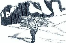 マキを運ぶ014