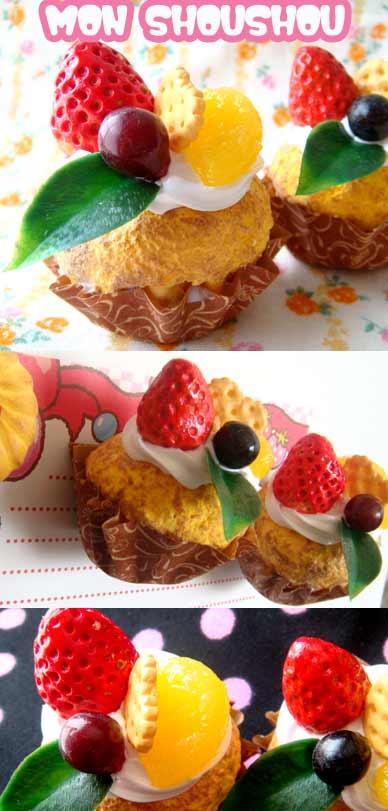 カップケーキのマグネット