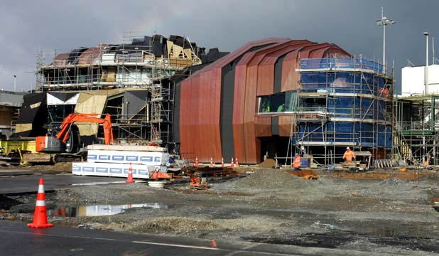 Wellington Airports new terminal