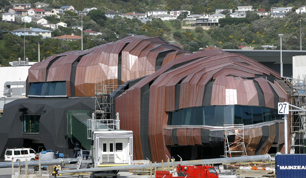 Wellington Airports international terminal