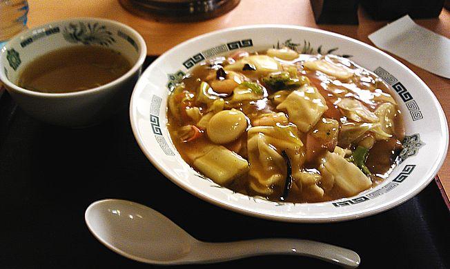日高屋 五目中華丼