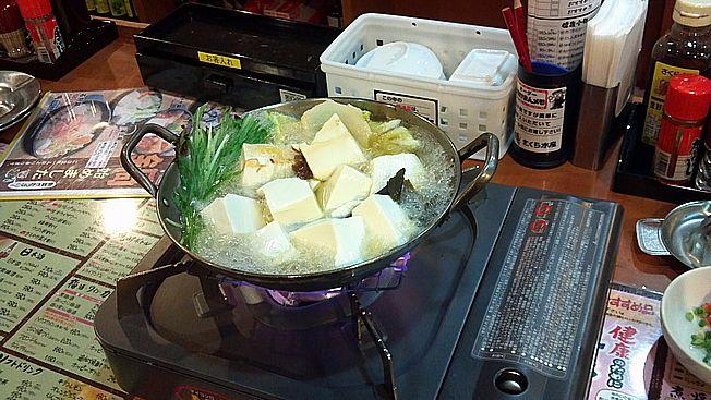 さくら水産鍋湯豆腐
