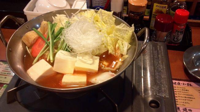 さくら水産鍋チゲ鍋