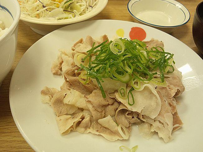 豚しゃぶ定食