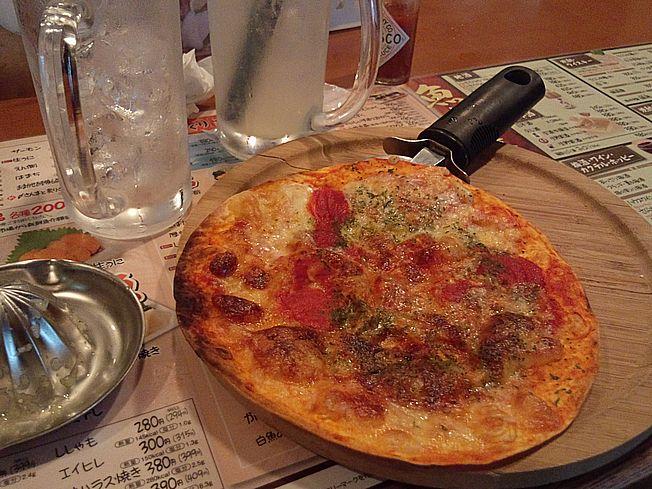 マルゲーリタピザ