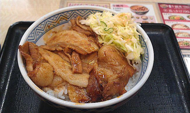 吉野屋 十勝豚丼(十勝仕立豚丼)