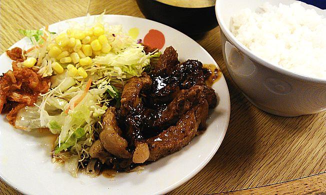 豚テキ定食(トンテキ定食)