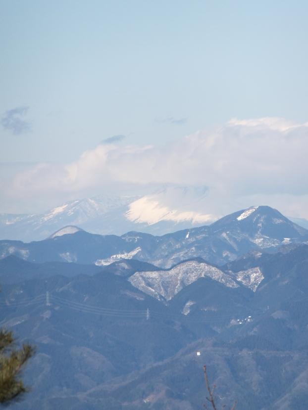 浅間山 西御荷鉾山