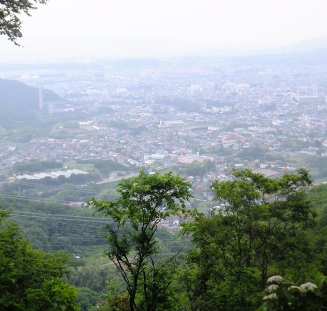 32-念仏山から秦野市街